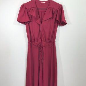Beautiful raspberry vintage dress